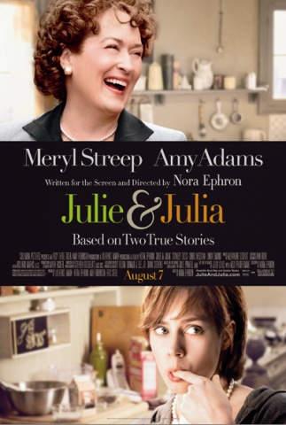 Julie og Julia filmanmeldelse