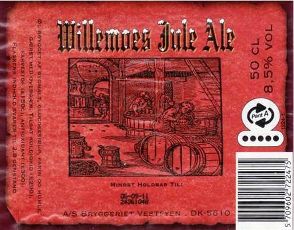 Willemoes jule ale smager af noget