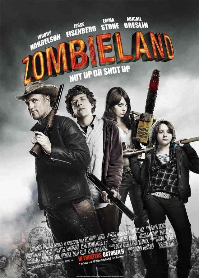 Zombieland filmanmeldelse