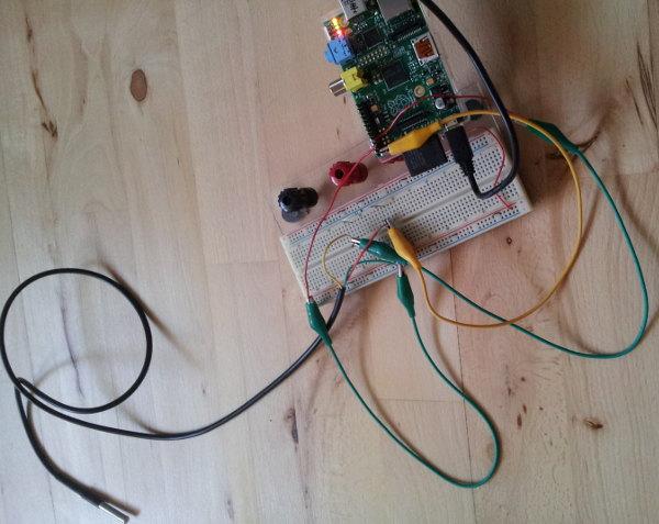 Temperaturmåling med Raspberry Pi