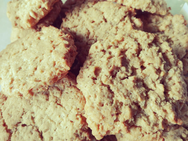 Cookies with peanutbutter and oats