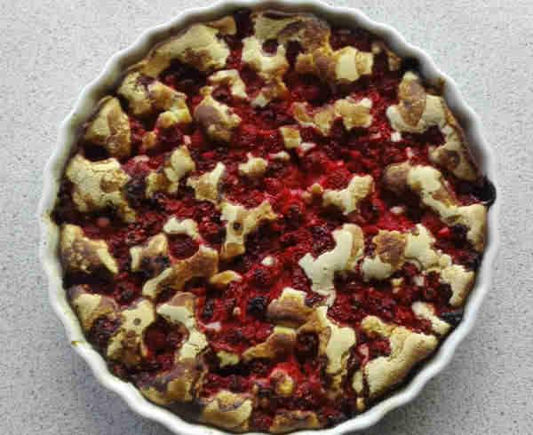 Hindbærtærte på den enkle måde